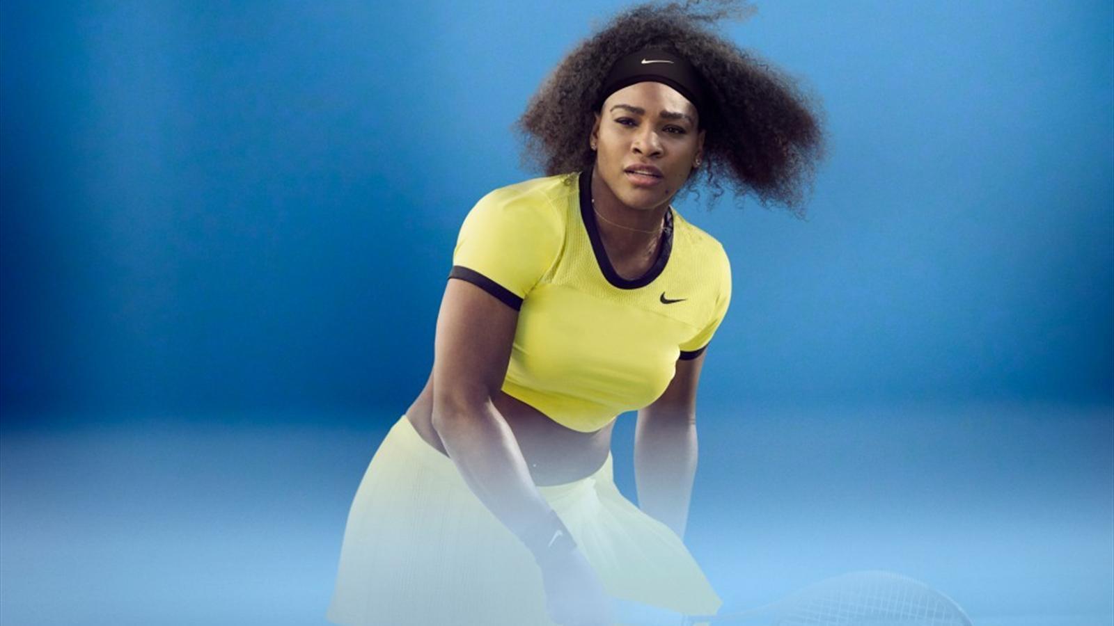 Titelverteidigerin Serena Williams