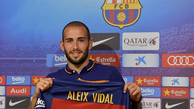 Placardisé au Barça, Vidal pourrait rebondir à l'OM