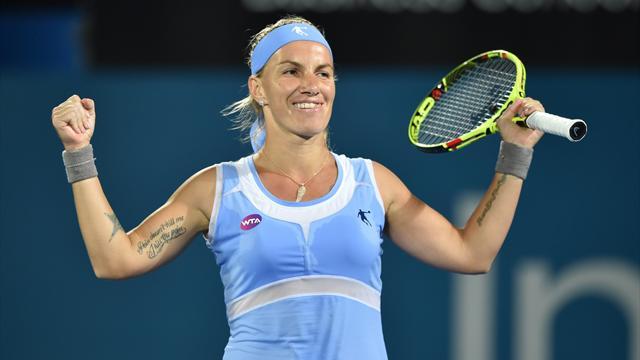 Кузнецова поднялась на 17-е место в рейтинге WTA