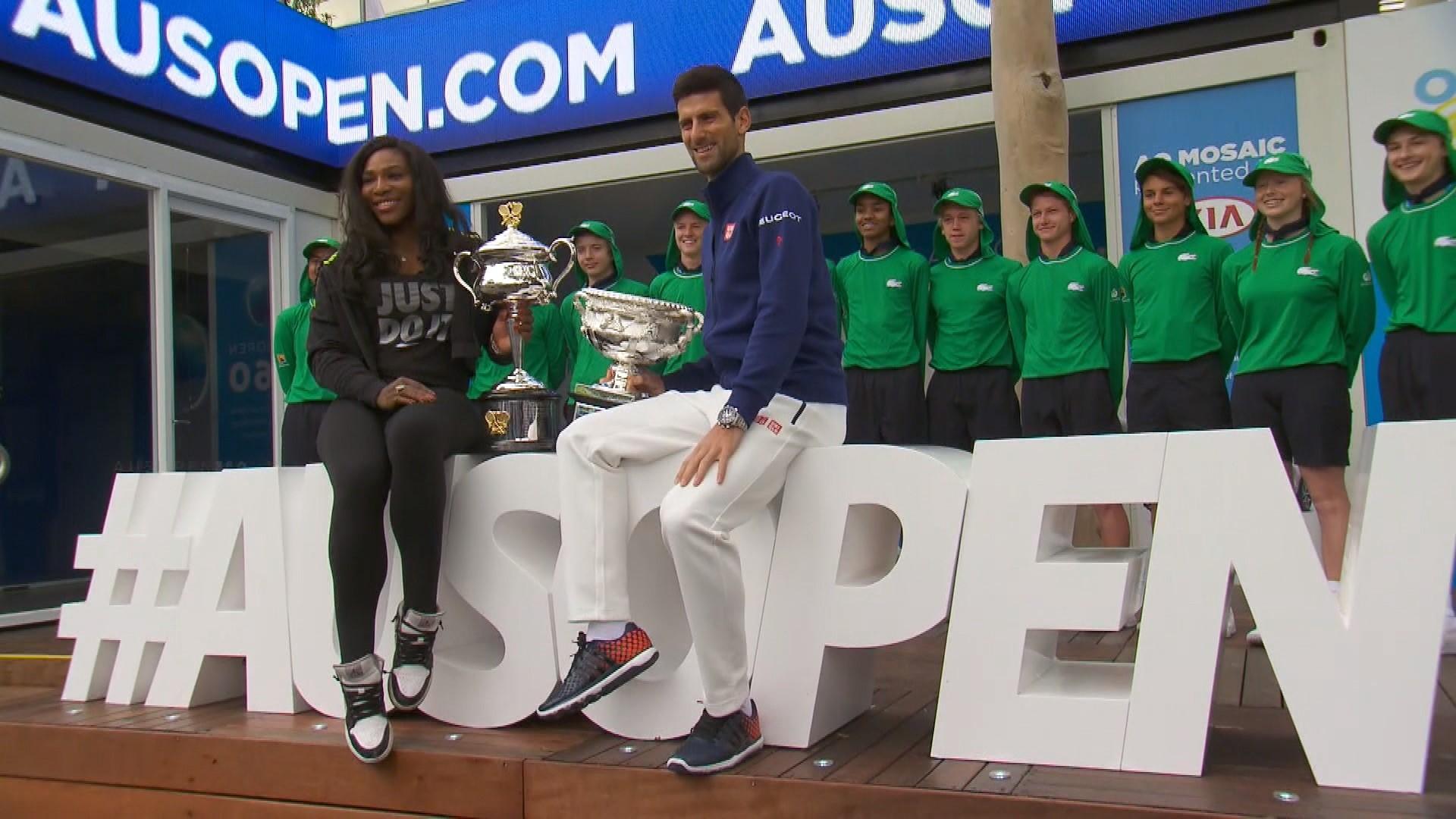 Серена Уильямс, Новак Джокович: жеребьевка Australian Open-2016