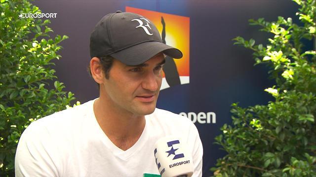 """Federer : """"J'espère avoir bientôt la chance de croiser Novak !"""""""