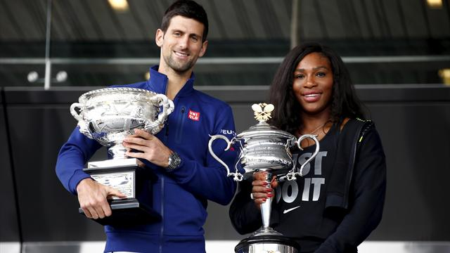 Order of Play, Day 2 - Williams and Djokovic begin campaigns