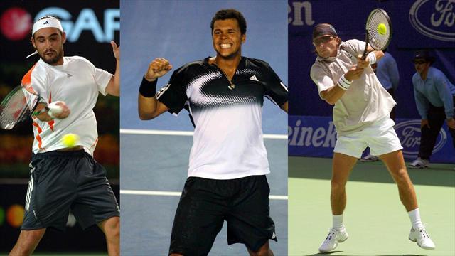Baghdatis, Tsonga, Clément... le Top 10 des héros improbables de l'Open d'Australie