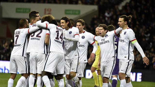 D'abord poussif, le PSG a su réagir pour faire plier Toulouse