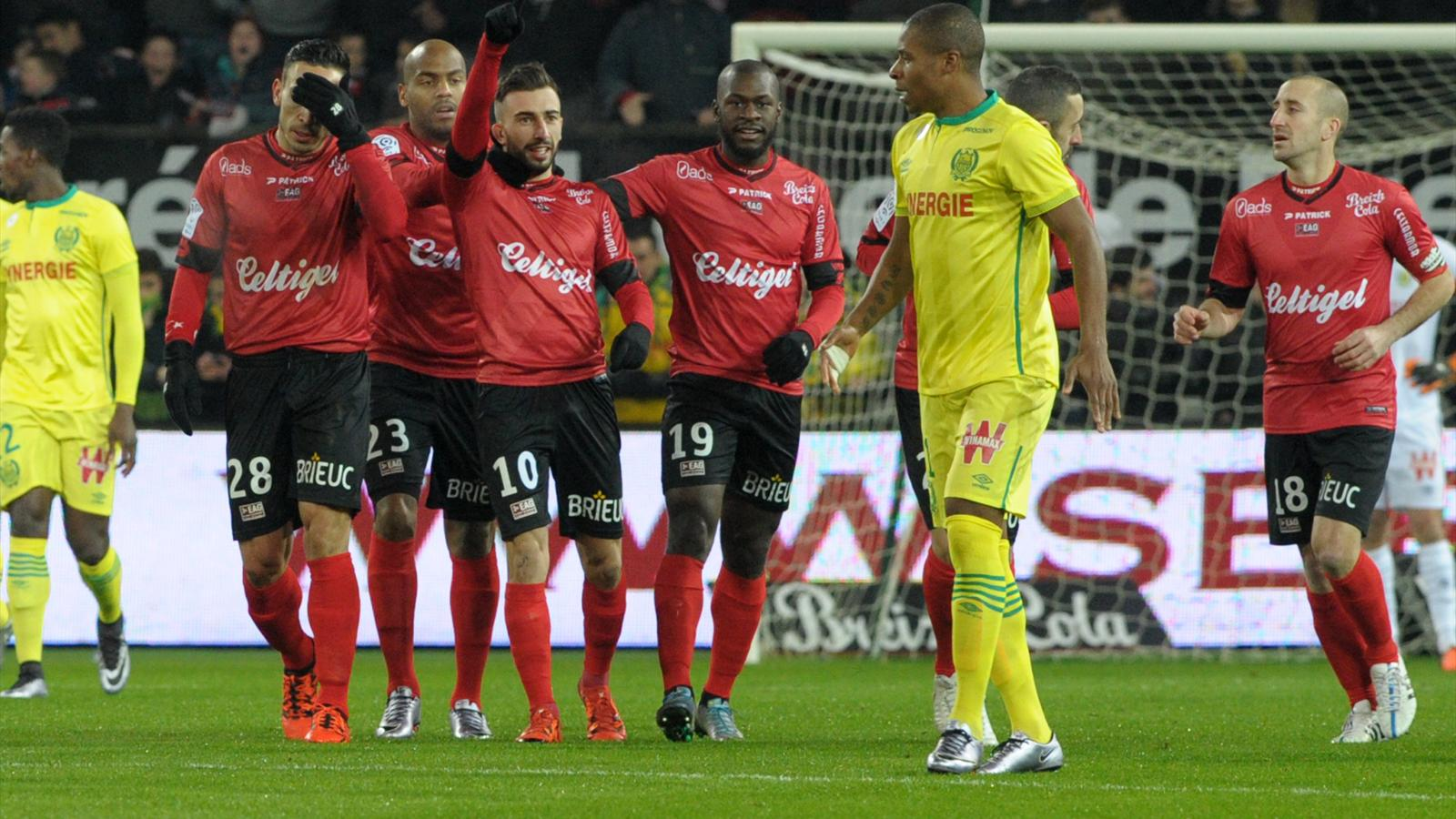 EN DIRECT / LIVE. En Avant Guingamp - FC Nantes