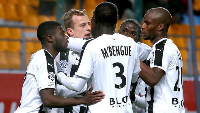 Rennes s'incruste dans la course à l'Europe, Lille tombe à Bordeaux