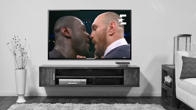 Фьюри вылез на ринг и вызвал на бой Уайлдера