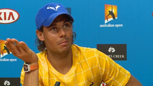 Надаль: «Мне совсем не понравилось поражение в Австралии – плохой был турнир»