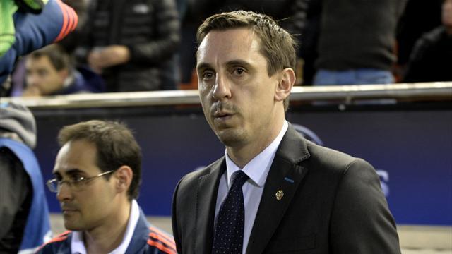 Toujours sans victoire à Valence en Liga, Gary Neville prêche (quand même) l'optimisme