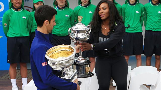 Le programme de lundi : Djokovic, Federer, Serena, Tsonga… Ça démarre fort à Melbourne