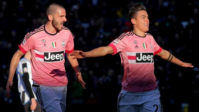 La Juve s'offre un 10 sur 10, la Roma de Spalletti débute par un nul
