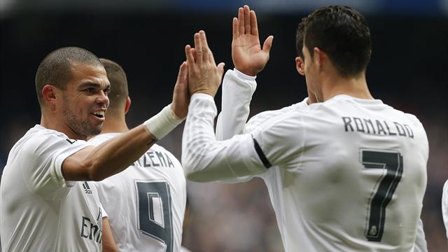Si Bale et Benzema ne s'étaient pas blessés, la journée du Real aurait été parfaite