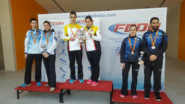 Iparpolo revalida el título de campeón de  España de dobles mixtos
