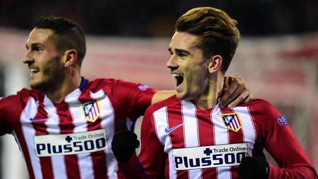 L'Atlético et Griezmann maintiennent un rythme infernal