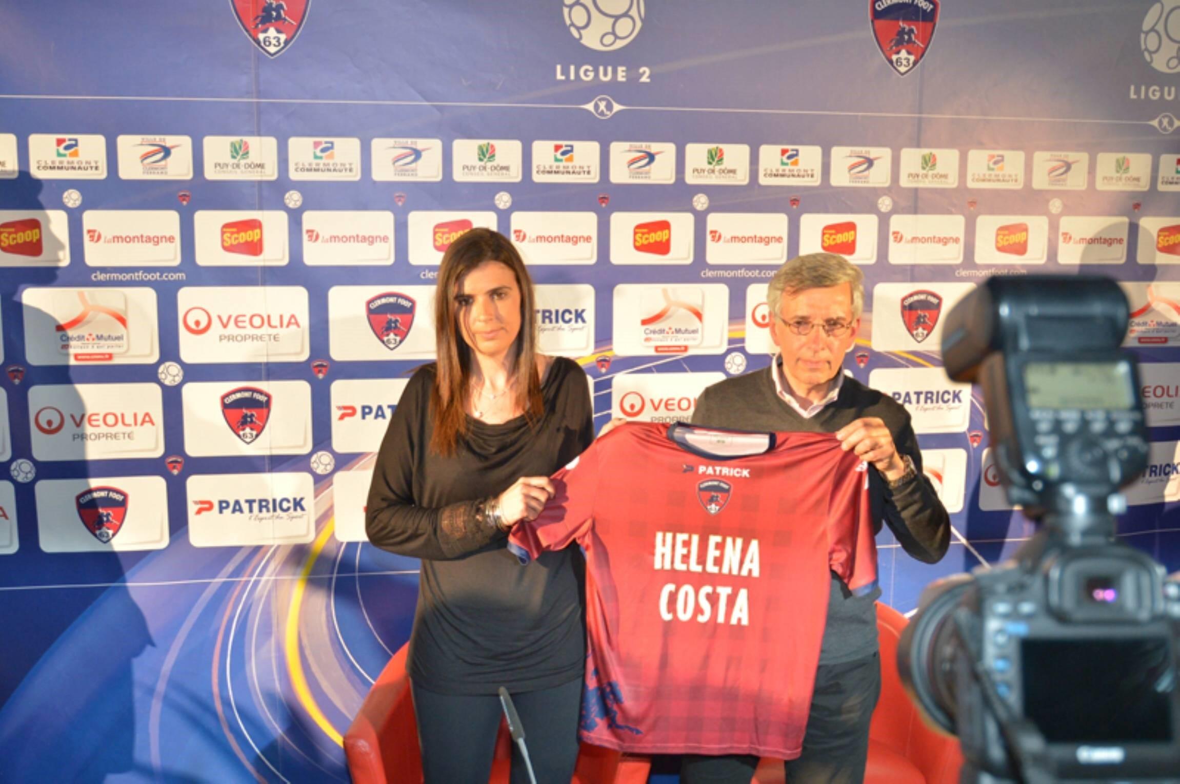 Хелена Кошта – первая женщина-тренер «Клермона»