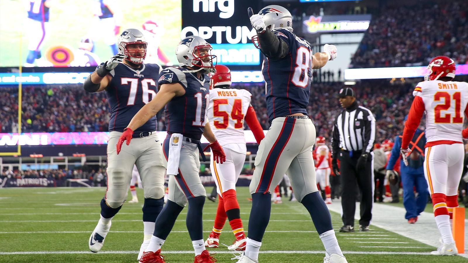 NFL: Sebastian Vollmer trifft mit den New England Patriots ...