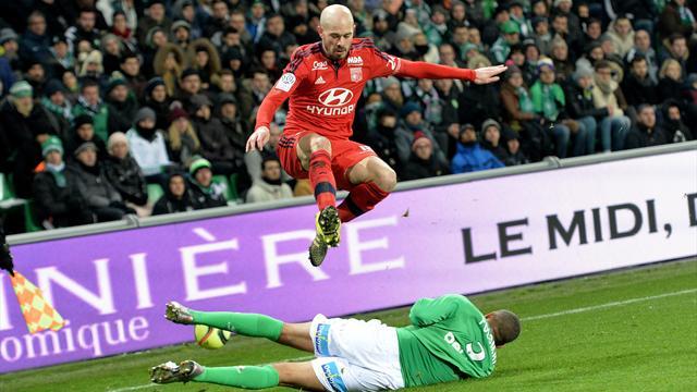 L'antisèche : L'OL repart de Saint-Etienne avec zéro point mais n'a pas tout perdu