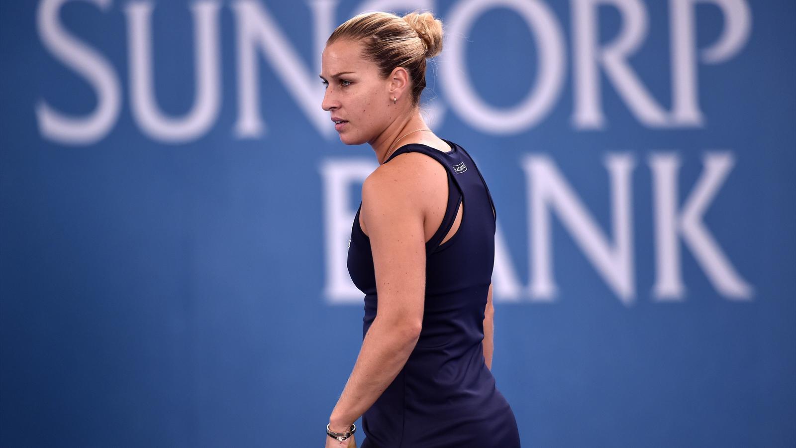 Victoire Finale De Dominika Cibulkova Wta Katowice 2016 Tennis
