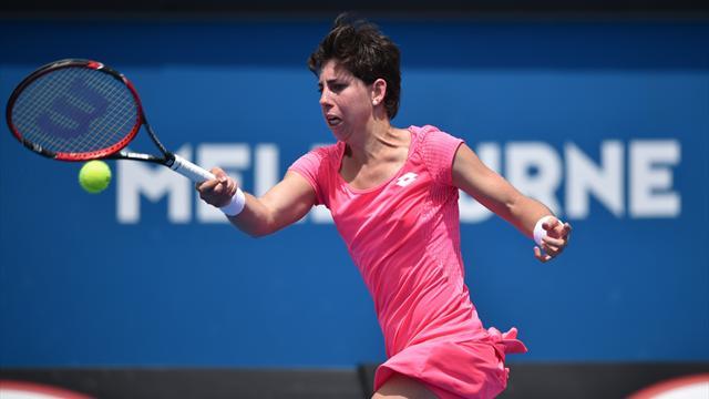 Carla Suárez aplasta a Radwanska y llega a la final de Doha (6-2 y 6-0)