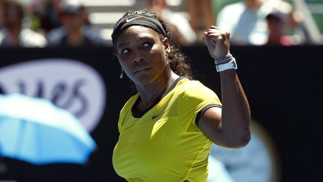 Serena, galibiyetle döndü