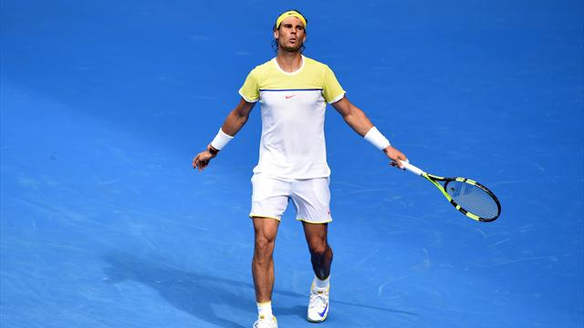 Tennis : Verdasco envoie Nadal au tapis !
