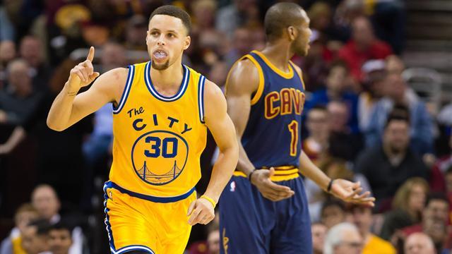 Entre battre le record des Bulls et conquérir un nouveau titre, Curry a fait son choix