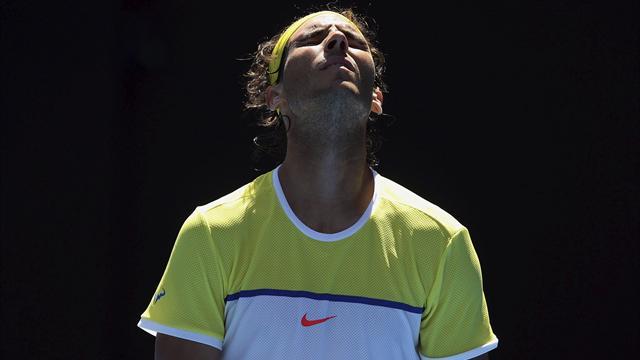 """Nadal : """"C'est une défaite qui fait très mal"""""""