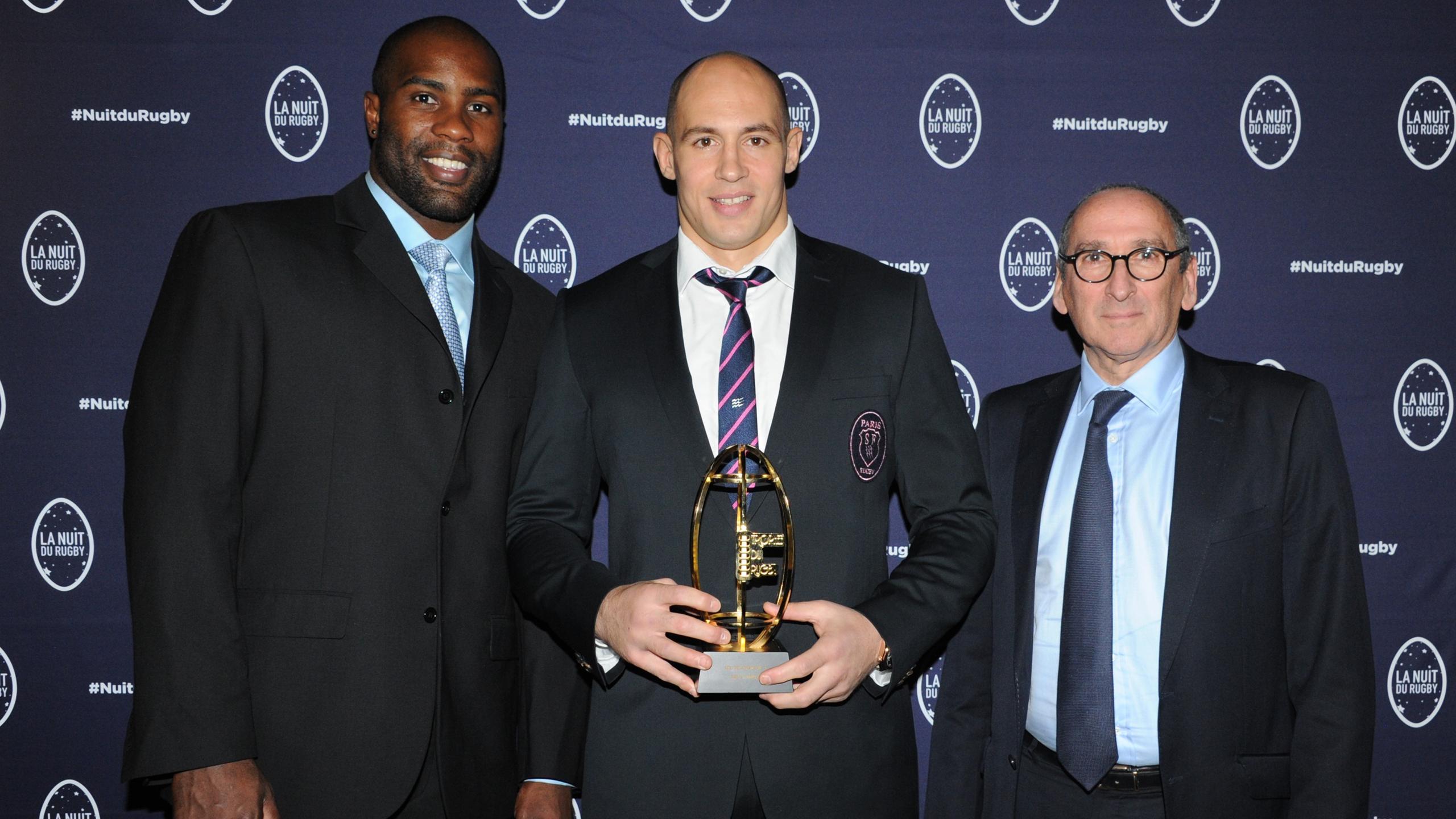 Sergio Parisse a été désigné meilleur joueur du Top 14 2014-2015 - Crédit LNR