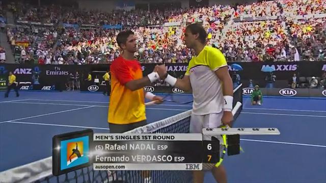 Как Вердаско вышвырнул Надаля с Australian Open