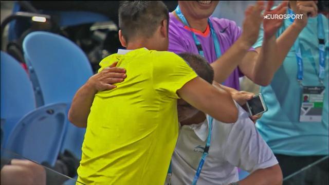 Тренер Чжэн Шуай заплакал после ее победы над Халеп