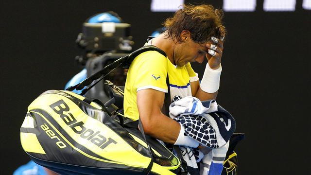 Провалы Надаля и Халеп, первая жертва австралийской жары и другие итоги второго дня Australian Open