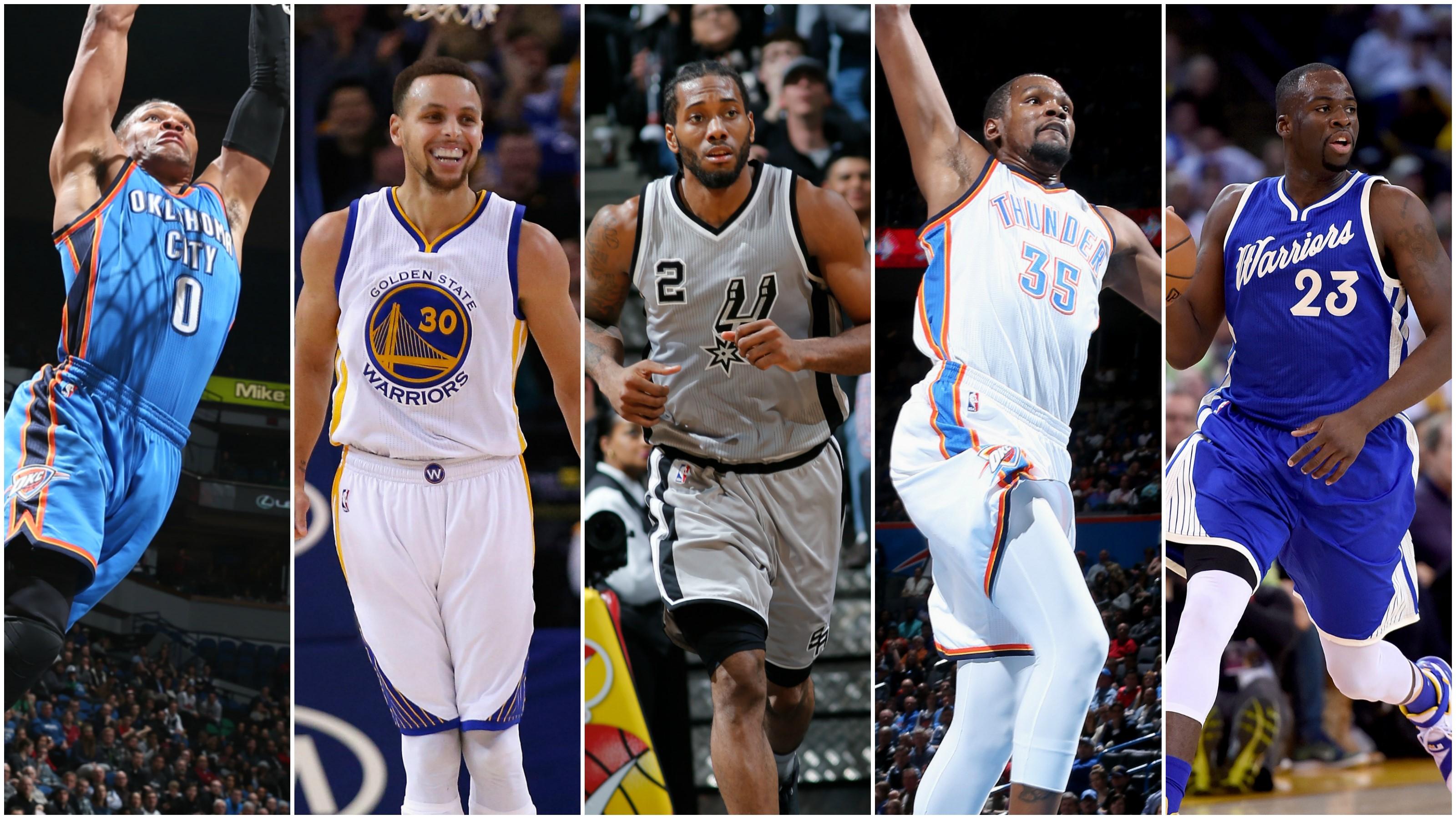 5 All Star NBA Ouest