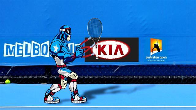 Как Капитан «Евроспорт» развлекается на Australian Open