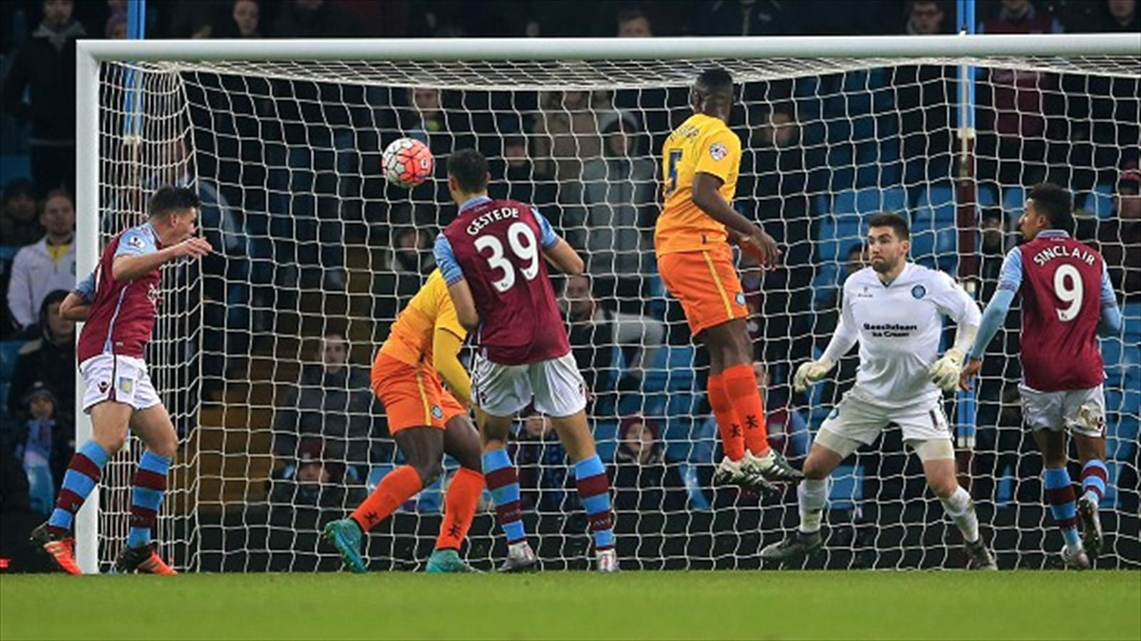 Aston Villa leave it late to beat Wycombe and reach FA Cup ...