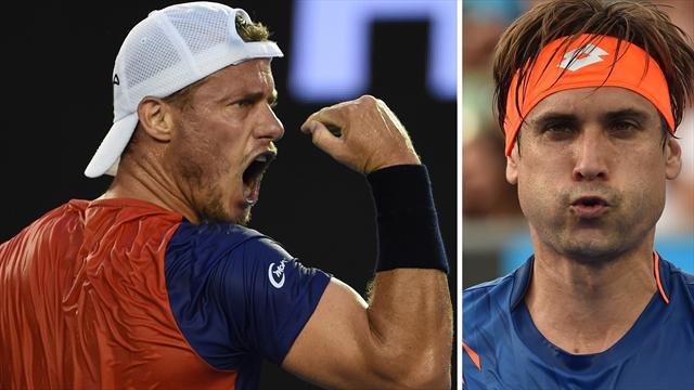 Open de Australia 2016, Ferrer-Hewitt: La última mirada del tigre
