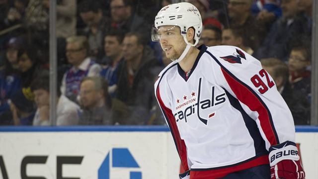 Евгений Кузнецов признан игроком месяца в НХЛ