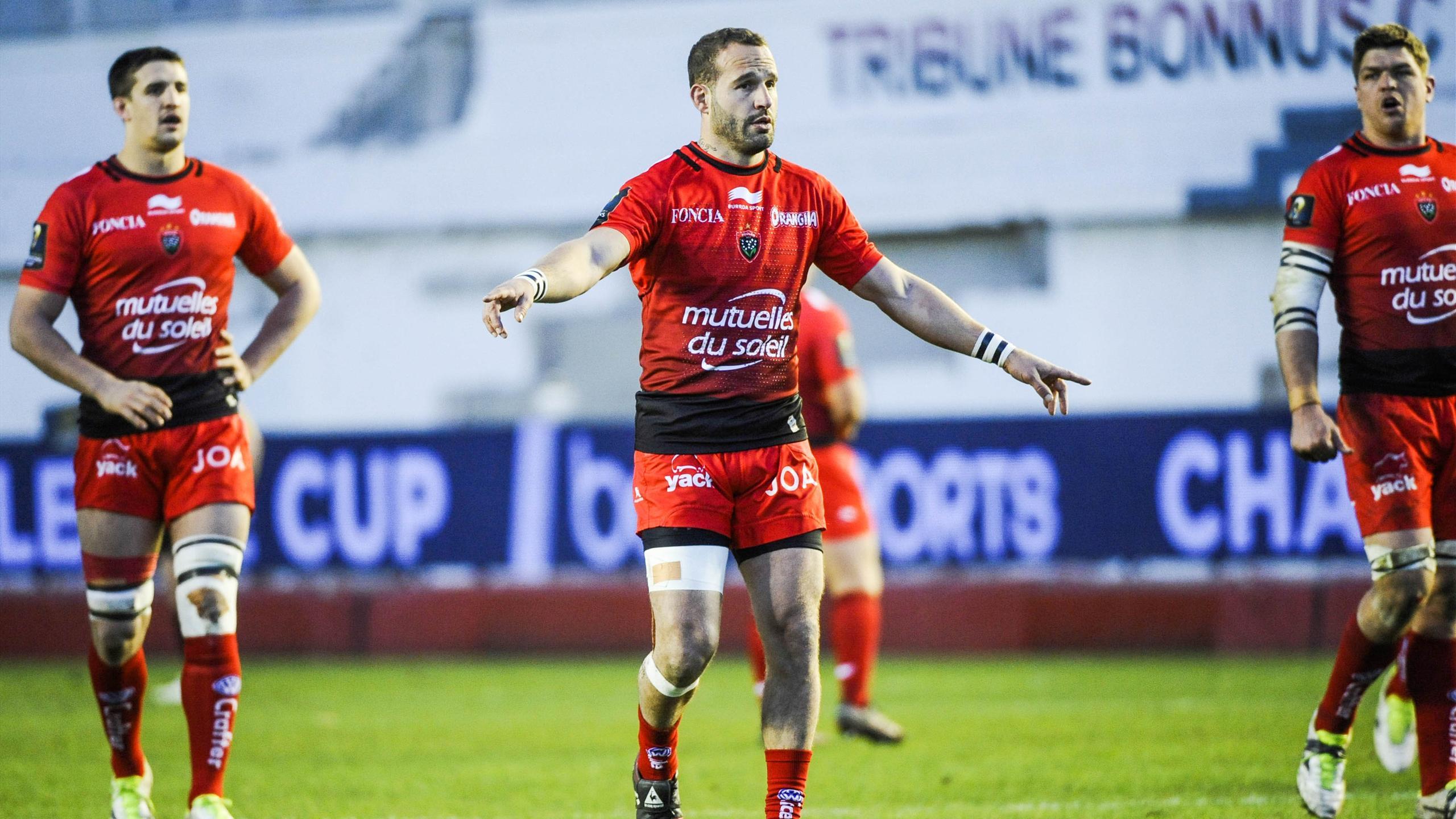 Frédéric Michalak (Toulon) - 17 janvier 2016