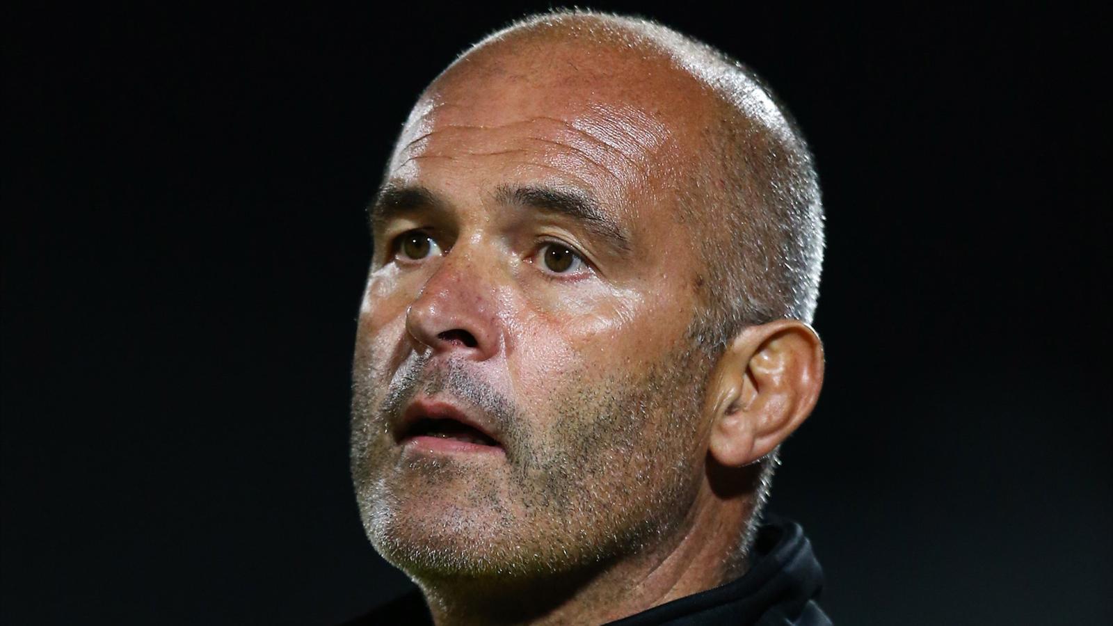 Jean-Christophe Bacca, le coach des avants d'Albi