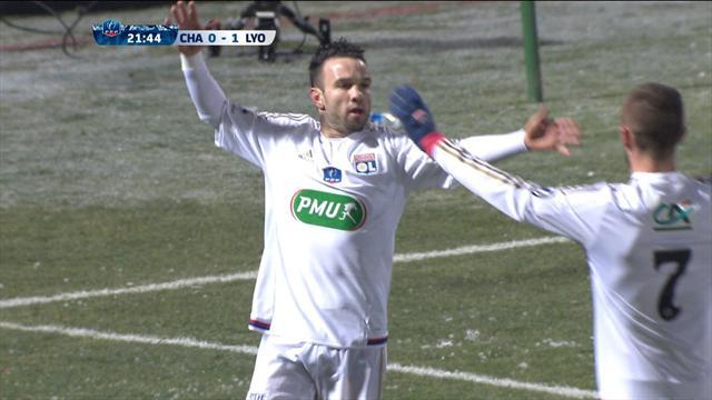 Chambly-OL : Grâce à Valbuena, l'OL prend le large