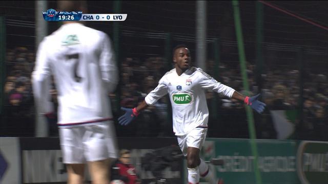 Chambly - Lyon : Lyon a réglé l'affaire en 22 minutes