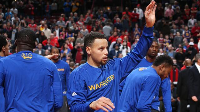 Golden State fait le ménage à l'Est, Cleveland rebondit : ce qu'il faut retenir de la nuit en NBA