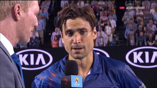 """Ferrer : """"C'est une triste journée, Hewitt était une idole pour moi"""""""