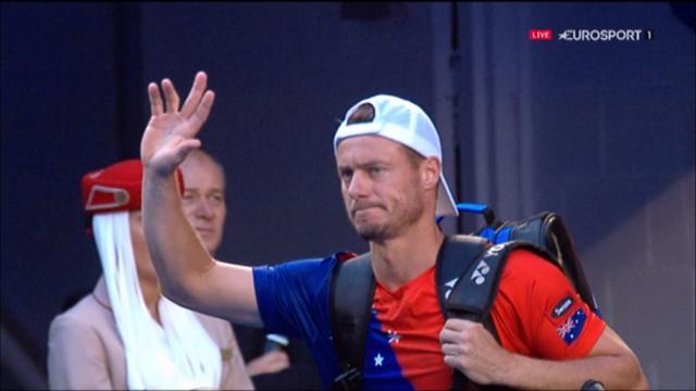 Les dernières minutes de l'ultime match de Hewitt en vidéo