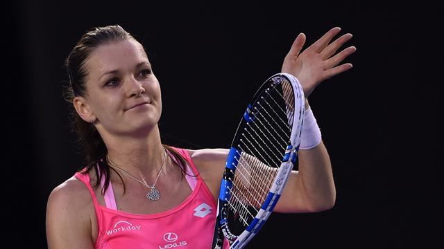 La Suarez Navarro arriva in ritardo: Radwanska in semifinale