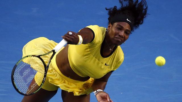 Serena takes Kasatkina to pieces in 44 minutes