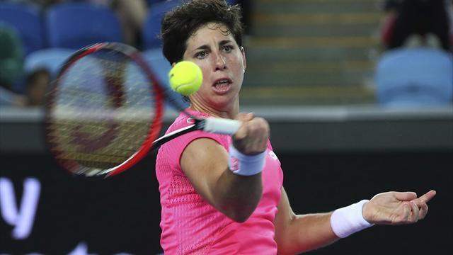 WTA Qatar, Carla Suárez-Donna Vekic: Dudas superadas (7-6 (5) y 6-4)