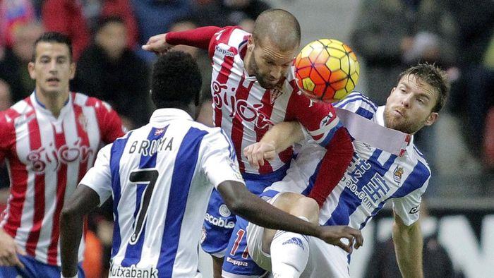 ไฮไลท์  Sporting Gijon 5 - 1 Real Sociedad