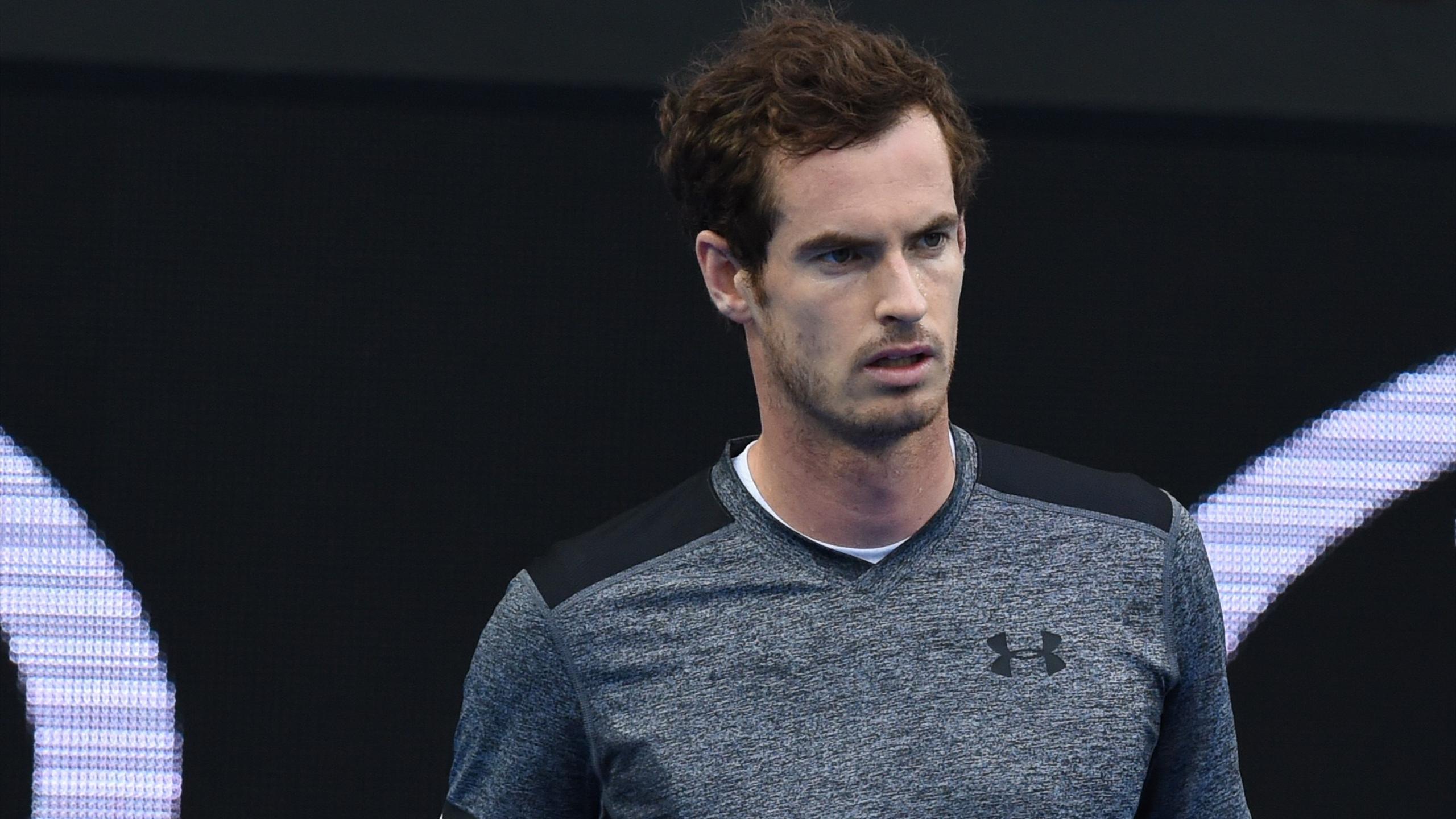 Andy Murray à l'Open d'Australie 2016