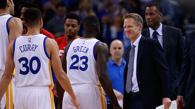 Kerr fera le déplacement les Warriors à San Antonio pour le match 3