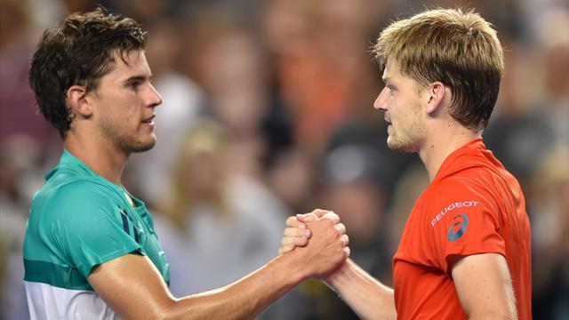Thiem-Goffin, la relève du tennis masculin a rendez-vous en quart